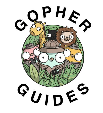 Gopher guides logo